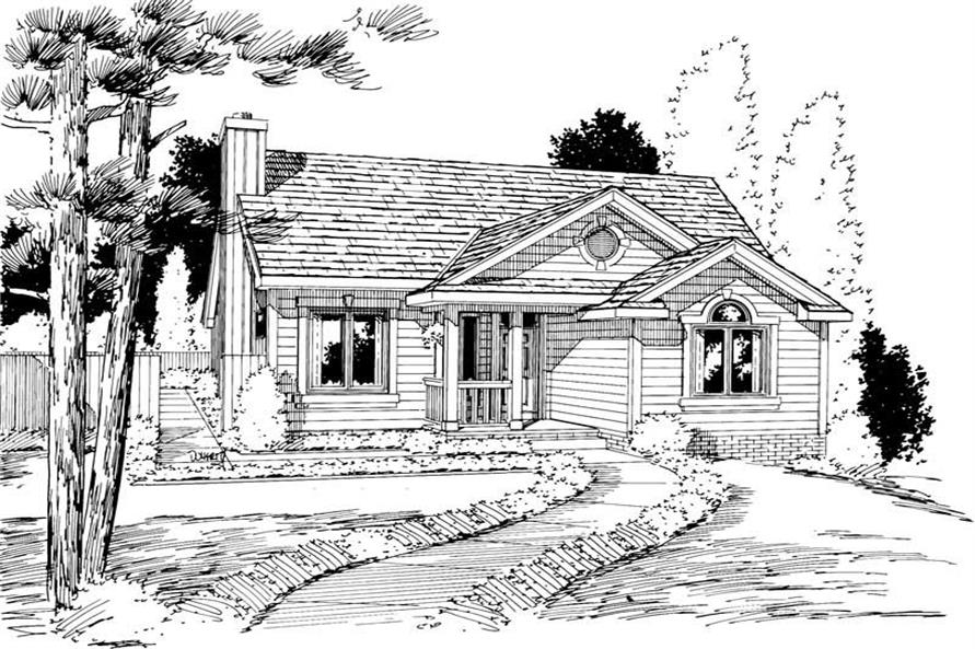 Main image for house plan # 5759