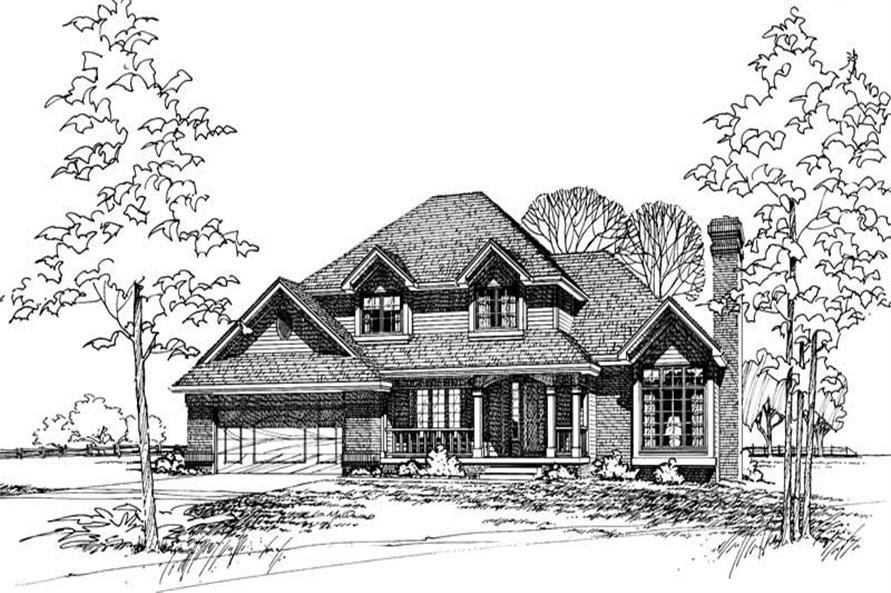 Main image for house plan # 5169