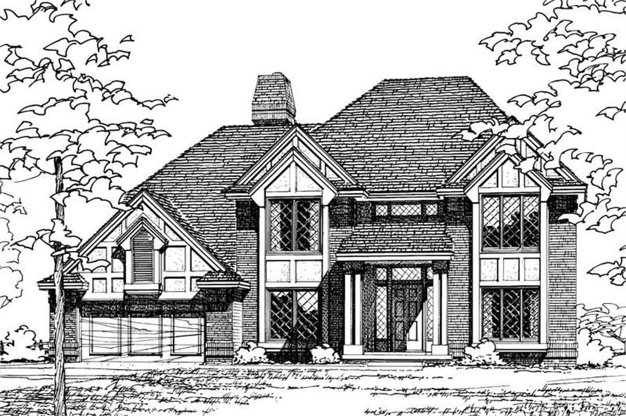 Main image for house plan # 5163