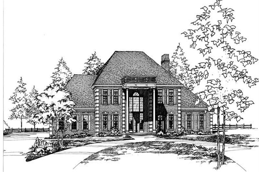 Main image for house plan # 5194