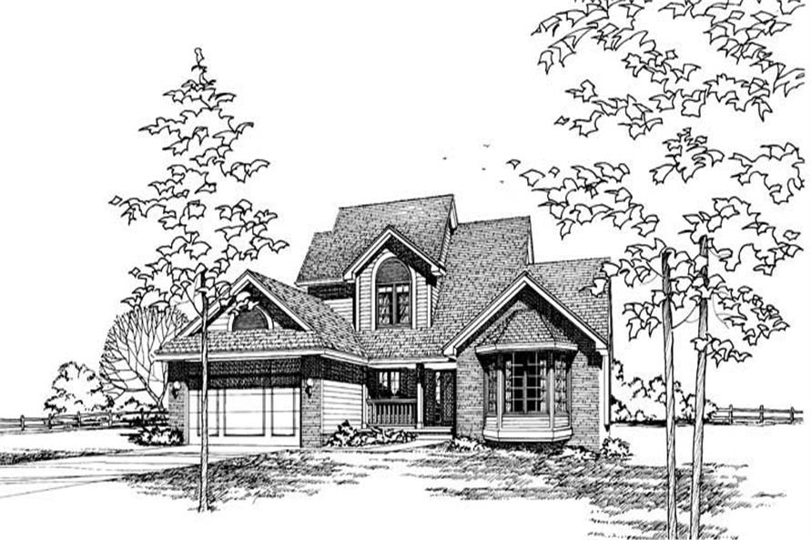 Main image for house plan # 5201