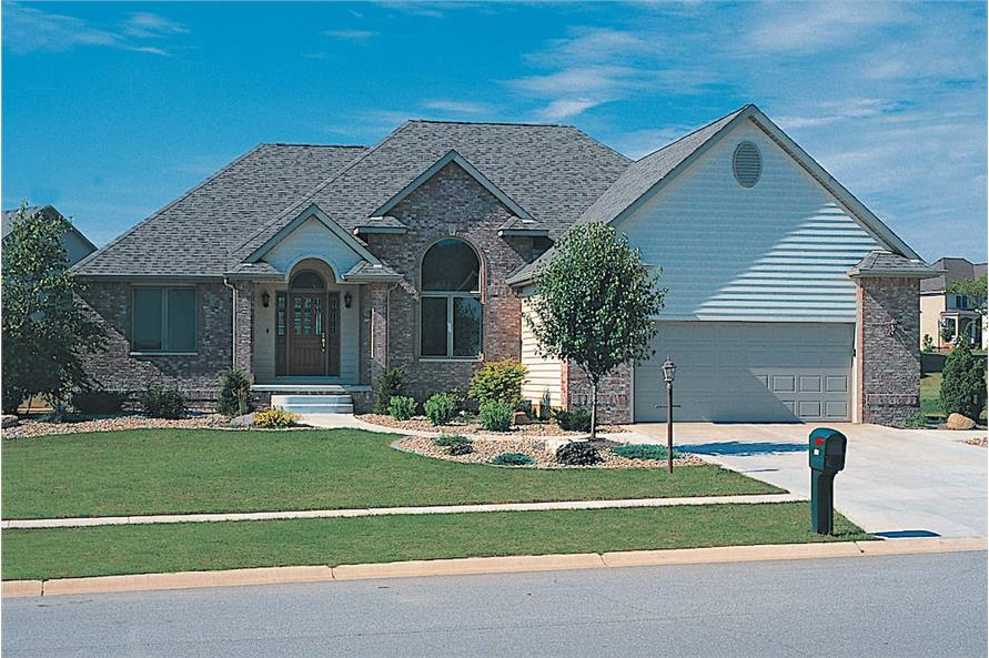 3-Bedroom, 1911 Sq Ft French House - Plan #120-1156 - Front Exterior