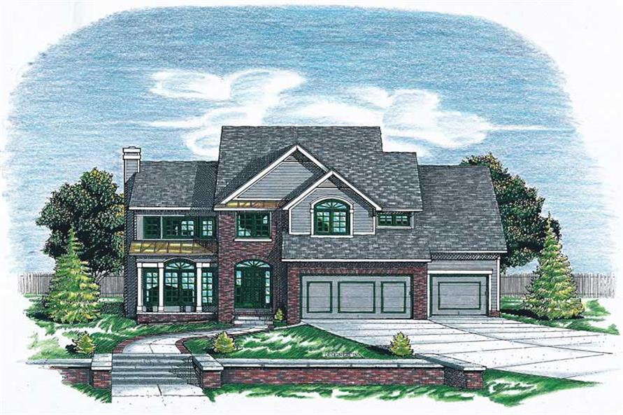 Main image for house plan # 6295