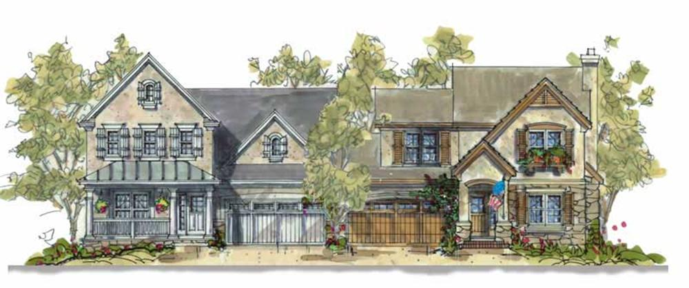 Main image for house plan # 6414