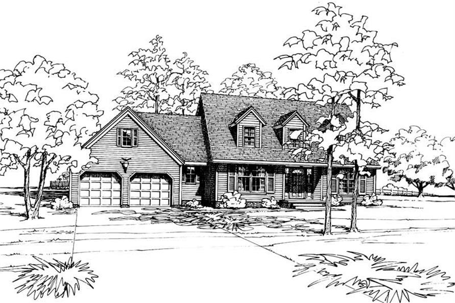 Main image for house plan # 5140