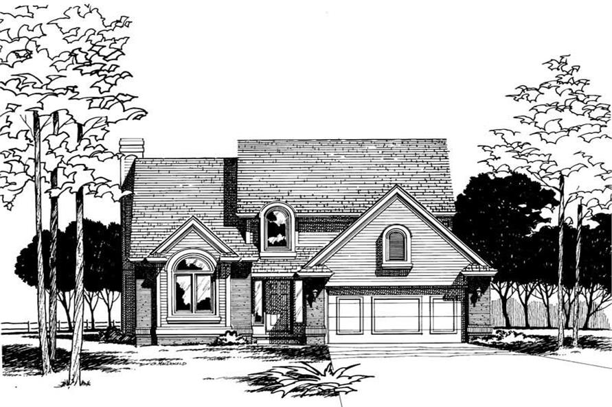 Main image for house plan # 5313