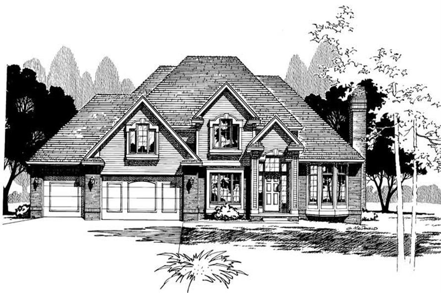 Main image for house plan # 5320