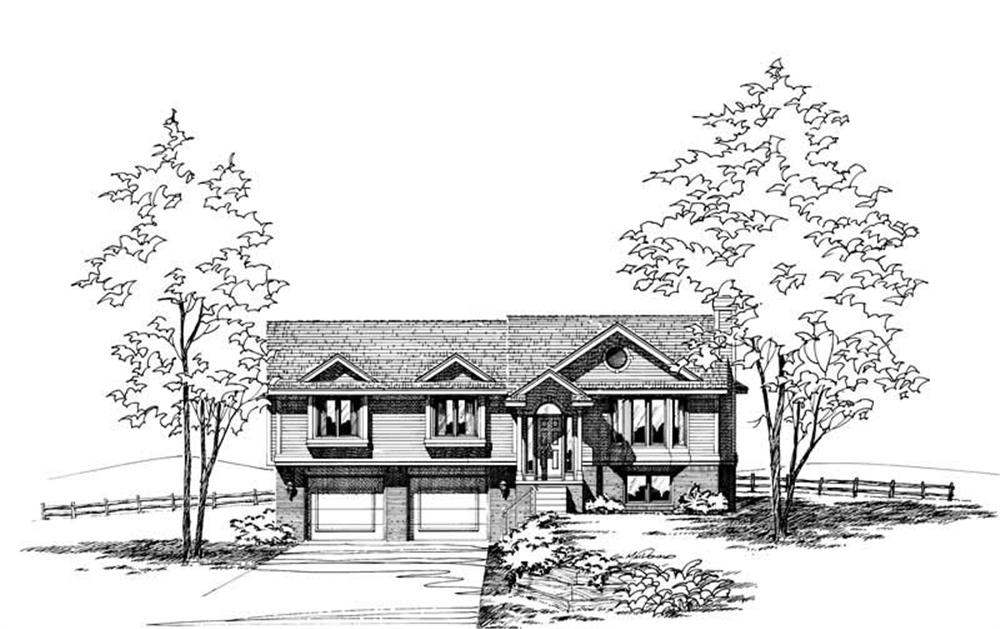 Main image for house plan # 5288
