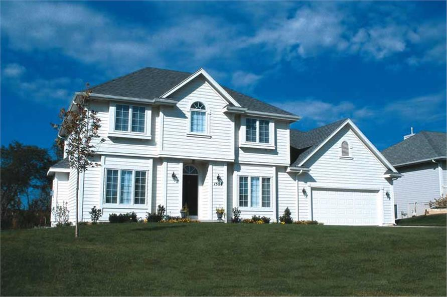 Exterior Photo of this 4-Bedroom,2058 Sq Ft Plan -2058