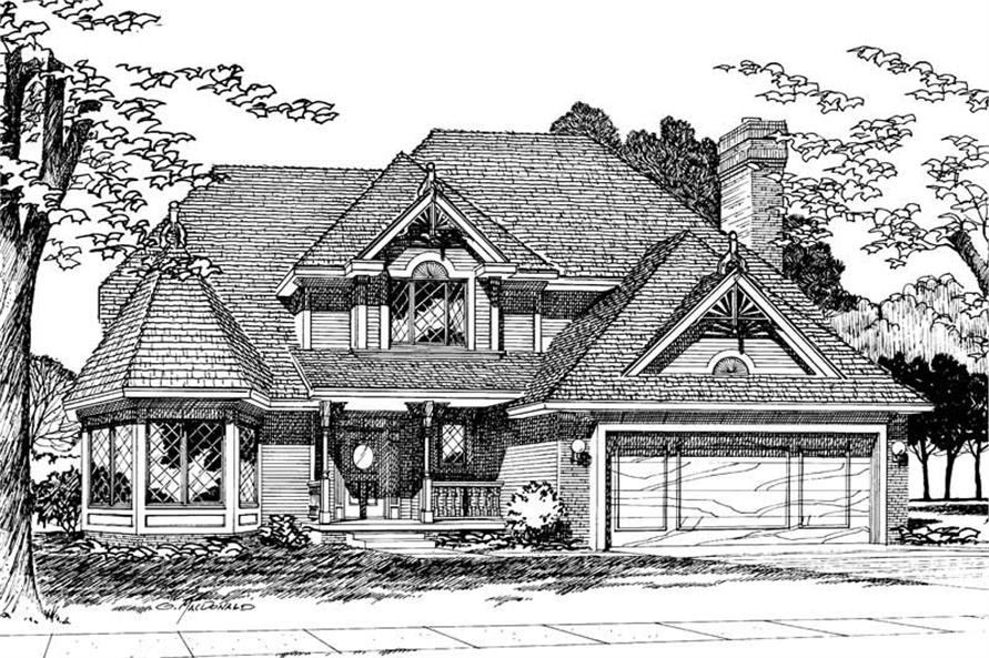 Main image for house plan # 5229