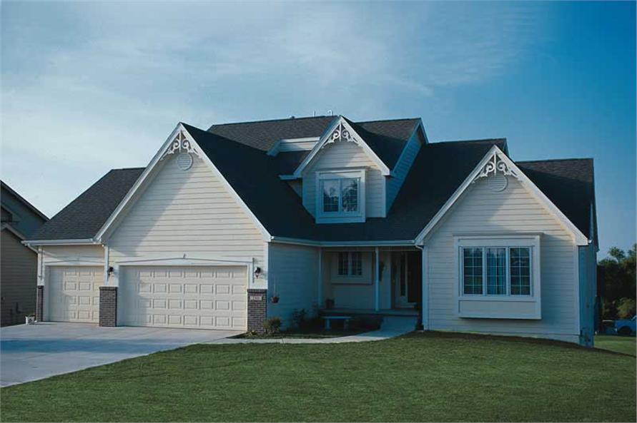 Main image for house plan # 5231