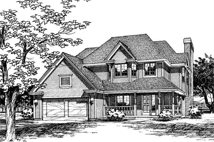Main image for house plan # 5232