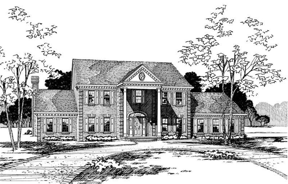 Main image for house plan # 5239