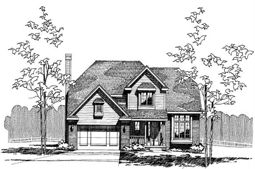 Main image for house plan # 5246