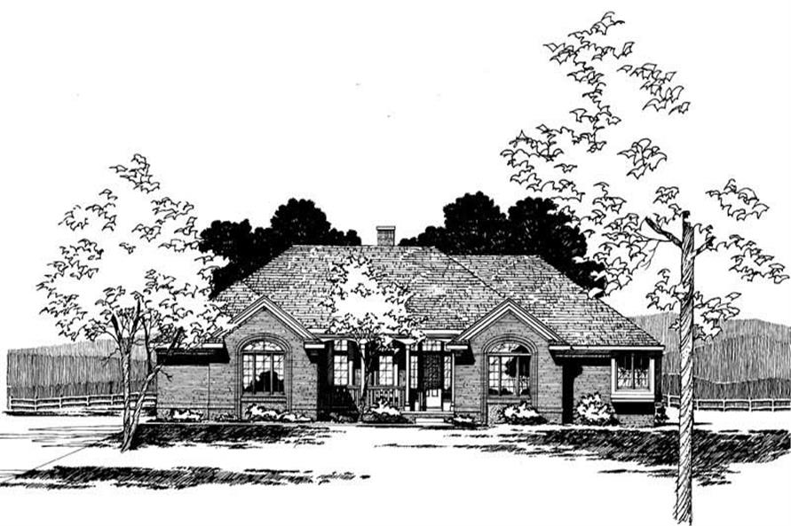 Main image for house plan # 5254