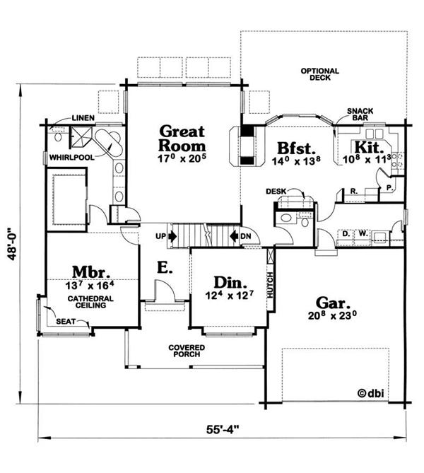 Empty nesters home plans house plans home designs for Empty nester home plans designs