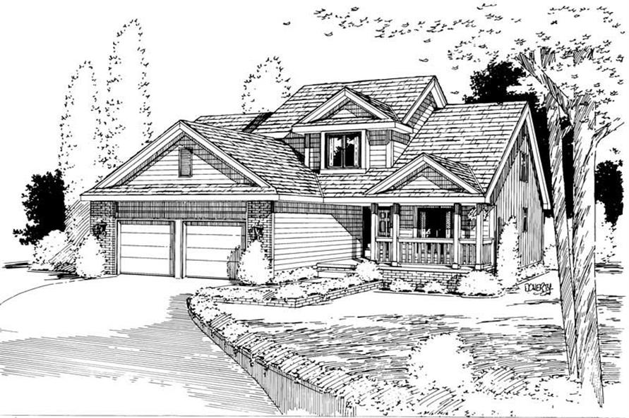 Main image for house plan # 5746