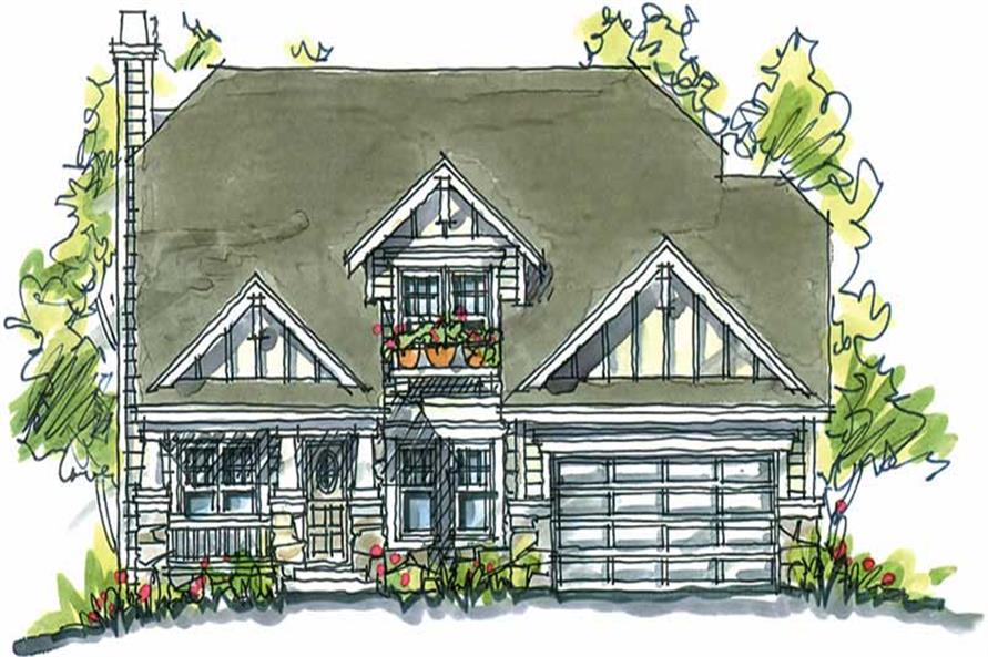 Main image for house plan # 5792