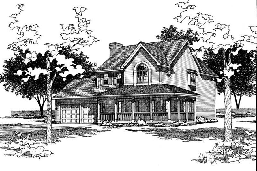 Main image for house plan # 5939