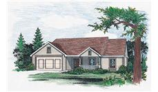 Main image for house plan # 5498
