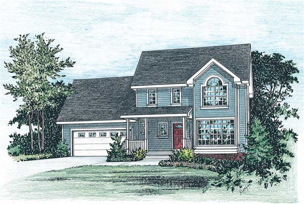 Main image for house plan # 5521