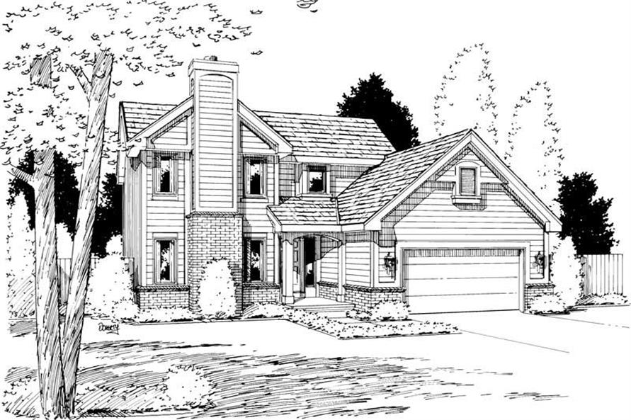 Main image for house plan # 5752