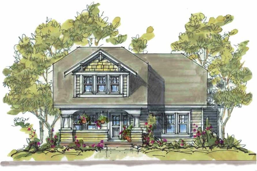 Main image for house plan # 5818