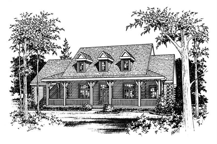 Home Plan Aux Image of this 4-Bedroom,3110 Sq Ft Plan -120-1294