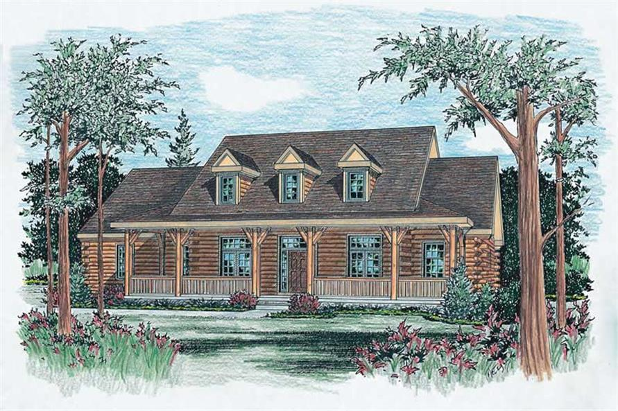 Main image for house plan # 5562