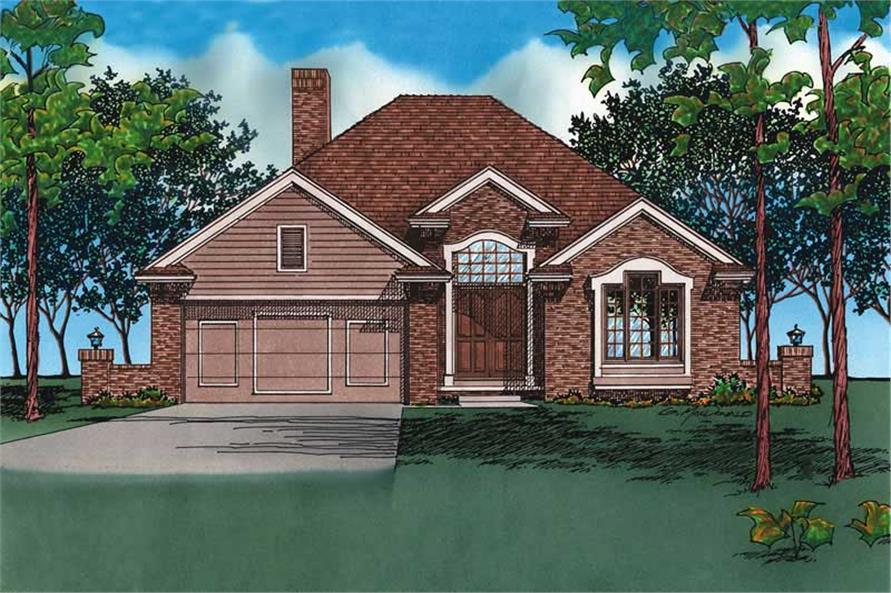 Main image for house plan # 5964