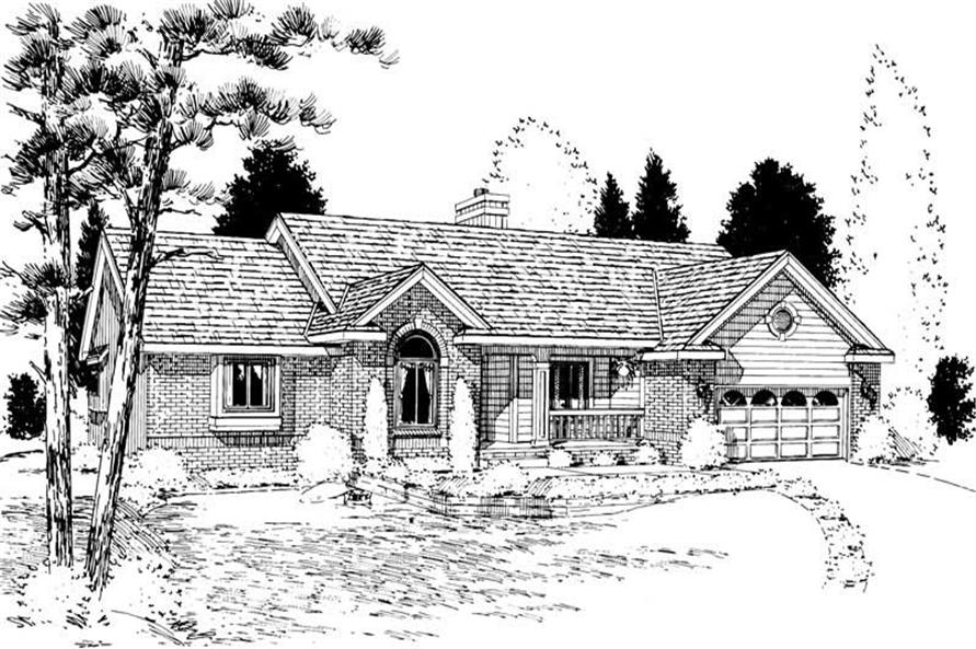 Main image for house plan # 5650