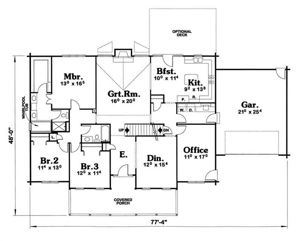 House Plan 120 1309 3 Bedroom 2164 Sq Ft Vacation