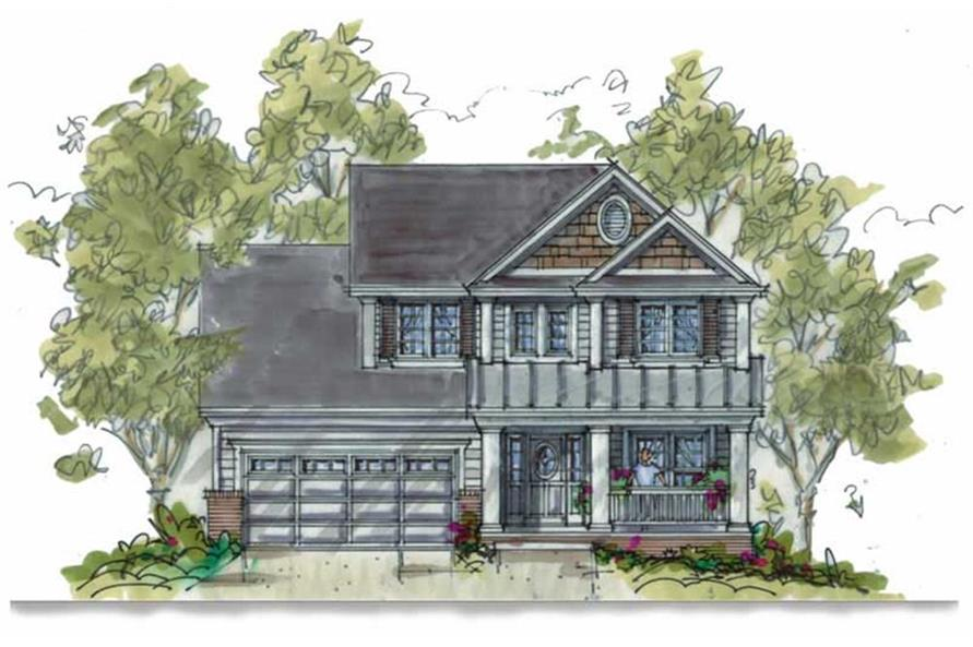 120-1310: Home Plan Rendering