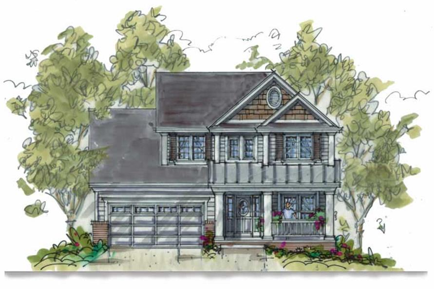 Main image for house plan # 5813