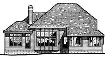 Main image for house plan # 5951