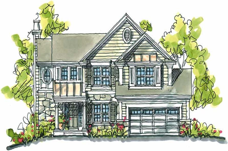 Main image for house plan # 5801