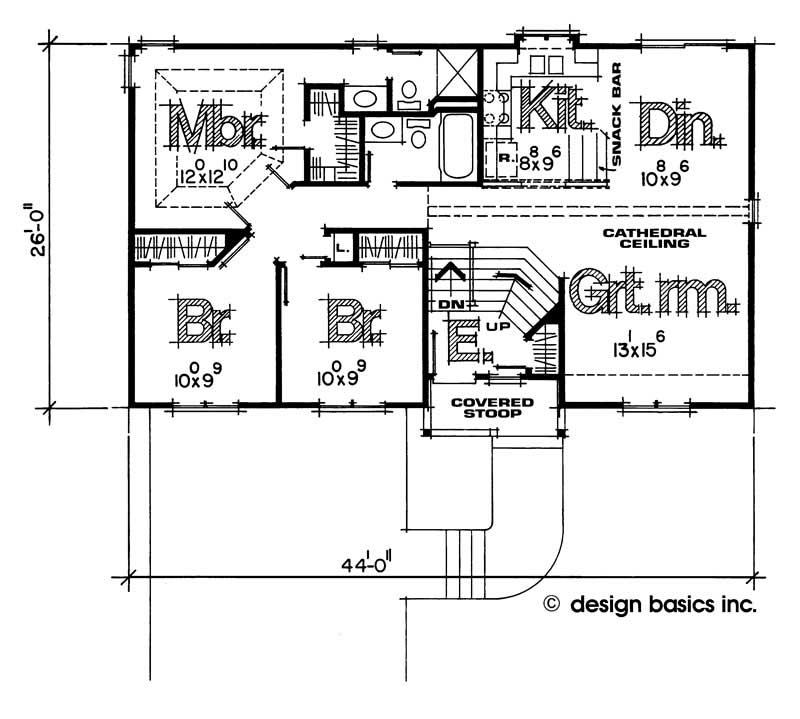 House plan 120 1328 3 bedroom 1125 sq ft small for 1125 sq ft floor plan