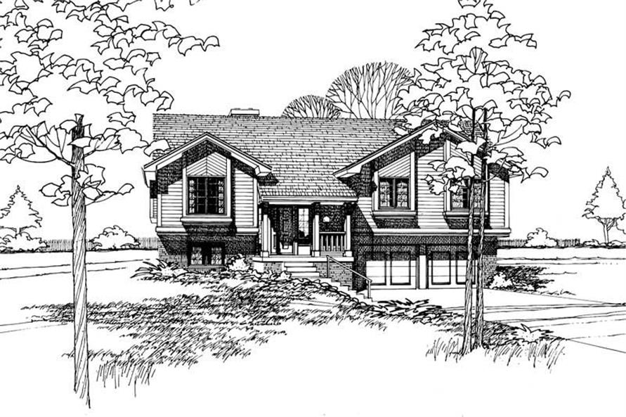 Main image for house plan # 5851