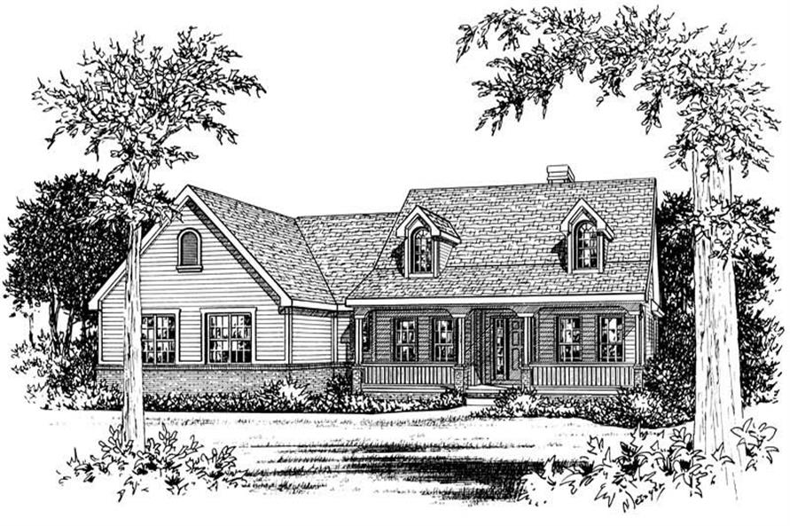 Main image for house plan # 5565