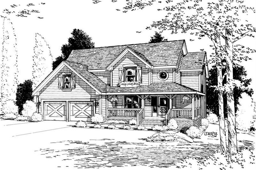 Main image for house plan # 5612