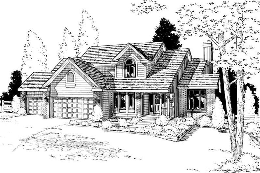 Main image for house plan # 5622