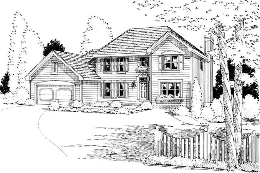Main image for house plan # 5641