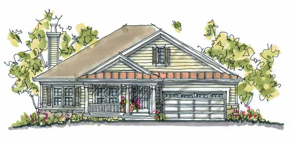 Main image for house plan # 5804