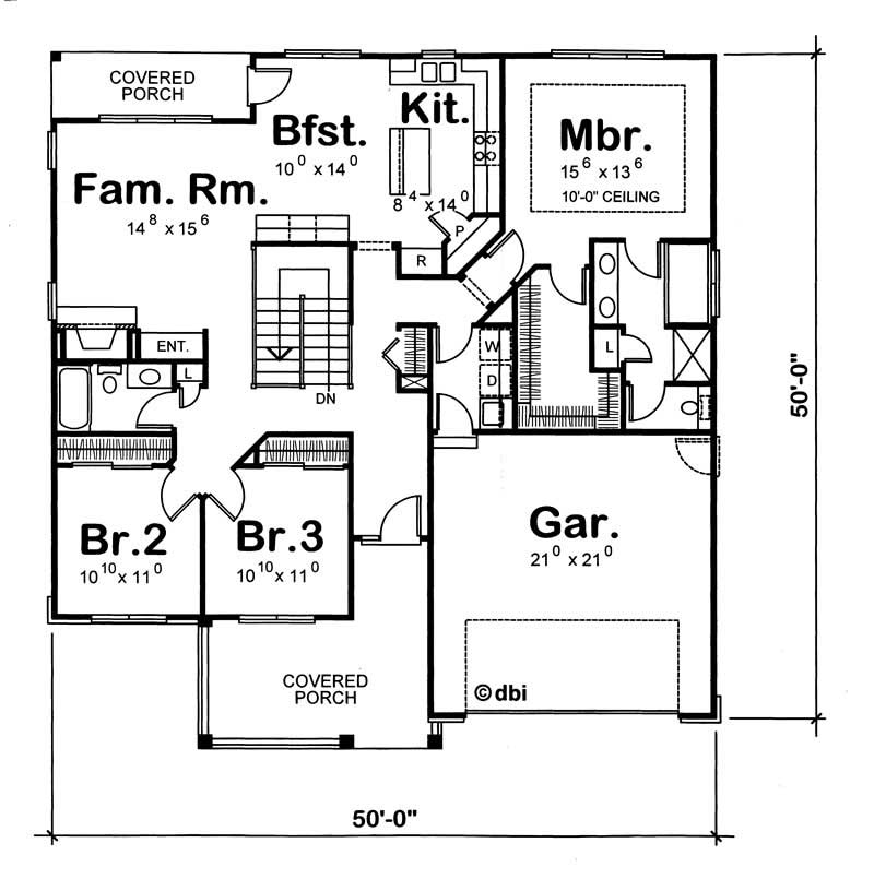 House plan 120 1350 3 bedroom 1724 sq ft ranch for 1350 sq ft house plan