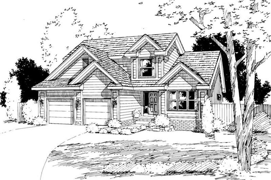 Main image for house plan # 5745