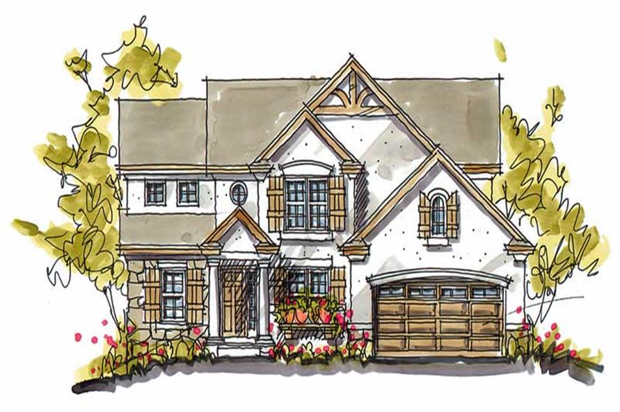 Main image for house plan # 5777