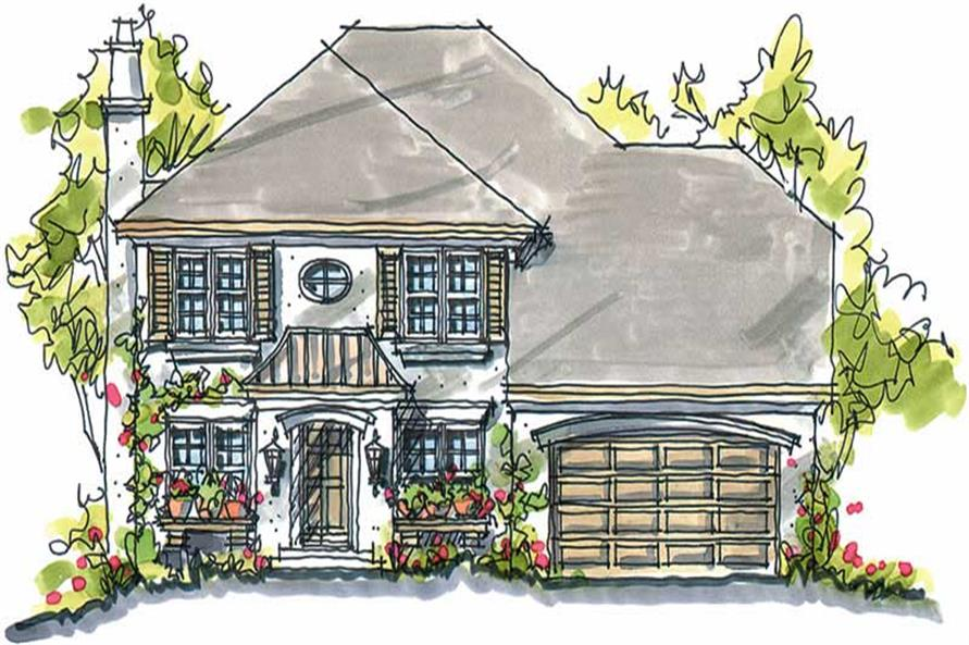 Main image for house plan # 5791
