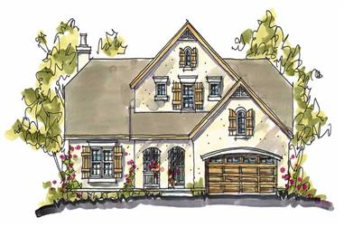 Main image for house plan # 5770