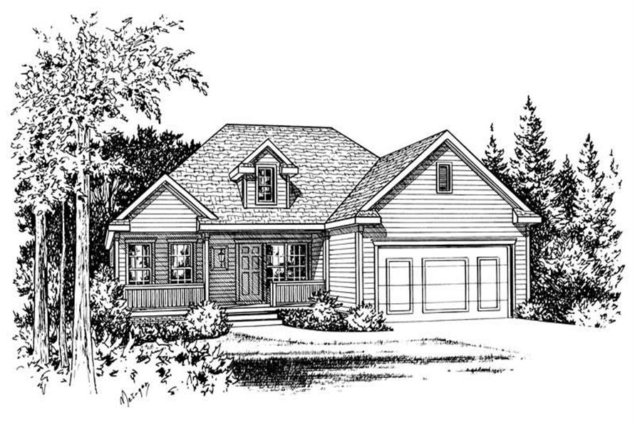 Main image for house plan # 5492