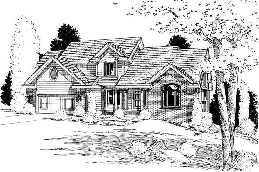 Main image for house plan # 5645
